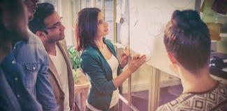 Молодые коллеги на встреча на офисе Стоковые Изображения RF