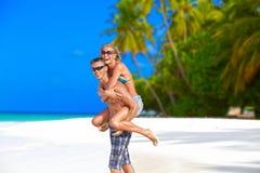 Молодые пары в влюбленности Стоковая Фотография RF