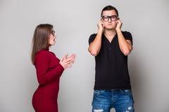 Молодые пары в ссоре, Стоковая Фотография RF
