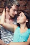 Молодые пары любовников Стоковые Фотографии RF
