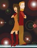 Молодые пары бесплатная иллюстрация