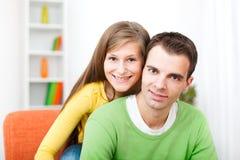 Молодые пары Стоковая Фотография