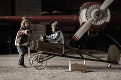 Молодые пилоты Стоковая Фотография