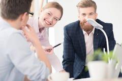 Молодые предприниматели работая совместно Стоковая Фотография RF