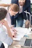 Молодые предприниматели работая совместно Стоковые Фотографии RF