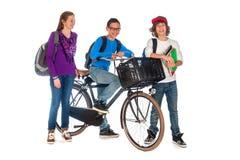 Молодые студенты стоковые изображения rf