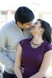 Молодые счастливые индийские пары Стоковые Фото