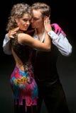 Молодые танцы пар Стоковые Фотографии RF