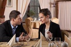 Молодые люди имея деловую встречу Стоковая Фотография