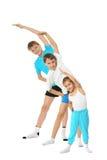 2 молодых брать мальчиков и маленькой сестра Стоковое фото RF
