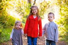 3 молодых отпрыска Стоковое фото RF