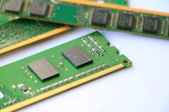Модули штосселя компьютера Стоковые Фото