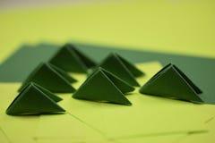модули origami 3D Стоковое Изображение