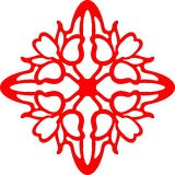 Модуль 5 абстракции Cattleya Стоковые Фотографии RF