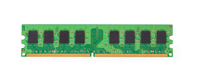 Модуль памяти DDR2 стоковая фотография rf