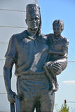 Молчаливая статуя посыльного Стоковое Изображение RF