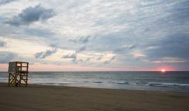 Молчаливый часовой на зоре Стоковая Фотография