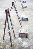 Мольберты для ребенк стоковая фотография