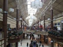Мол Danbury справедливый в Коннектикуте, США Стоковые Фотографии RF