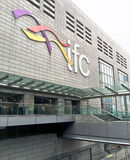 Мол IFC в Гонконге Стоковая Фотография