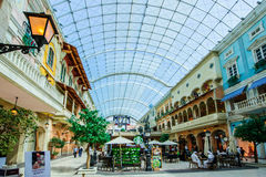 Мол Mercato, Дубай, ОАЭ Стоковая Фотография RF