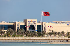 Мол Seef в Muharraq, Бахрейне стоковое изображение rf