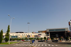 Мол Timisoara Iulius Стоковая Фотография
