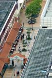 Мол Toa Payoh - вид с воздуха Стоковые Изображения RF