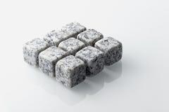 Мраморизованные камни вискиа установленные 9 Стоковая Фотография