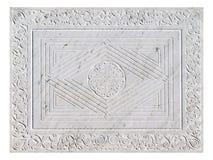 мраморная богато украшенный плита Стоковые Изображения