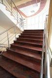 мраморная лестница Стоковая Фотография