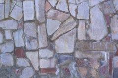 Мраморная мозаика на поле Стоковая Фотография RF
