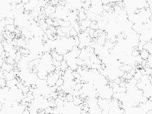 Мраморная предпосылка, черно-белая картина Стоковое Изображение