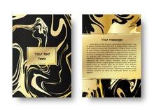 Мраморная предпосылка для поздравительных открыток, приглашений, etc Стоковое Изображение RF