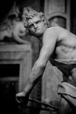 Мраморная скульптура Дэвид Gian Lorenzo Bernini Стоковые Изображения RF