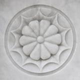 Мраморная скульптура цветка Стоковые Изображения