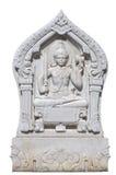 Мраморная скульптура Vishnu Стоковые Изображения RF