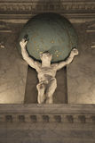 Мраморная статуя в королевском дворце Амстердам Стоковое Изображение RF