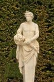 Мраморная статуя в парке дворца Версаль Стоковые Фотографии RF