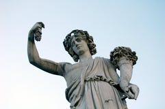 Мраморная статуя, Рим Стоковые Фото