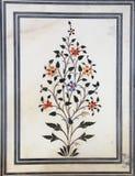Мраморная текстура цветка. Стоковое Изображение