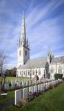 Мраморная церковь, Bodelwyddan, Уэльс Стоковые Фото