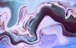 Мраморная цифровая иллюстрация Абстрактная предпосылка с каменной текстурой Стоковое Фото