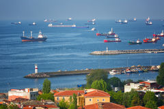 Мраморное море, Стамбул Стоковые Фотографии RF