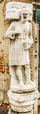 Мраморное sculptire Rioby в Венеции Стоковая Фотография RF