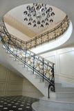 мраморные лестницы стоковые изображения