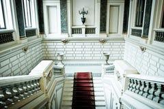 мраморные лестницы Стоковое Фото