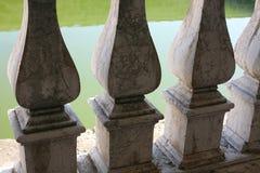 Мраморные перила Стоковые Изображения RF