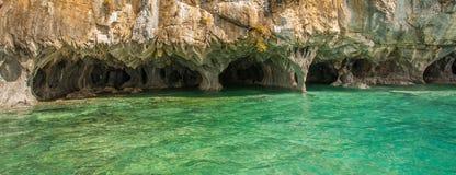 Мраморные пещеры стоковые фотографии rf