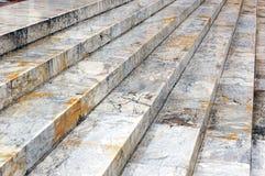 Мраморные шаги Стоковая Фотография
